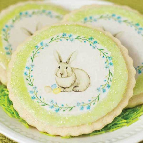 Easter Wreath Wafer Paper