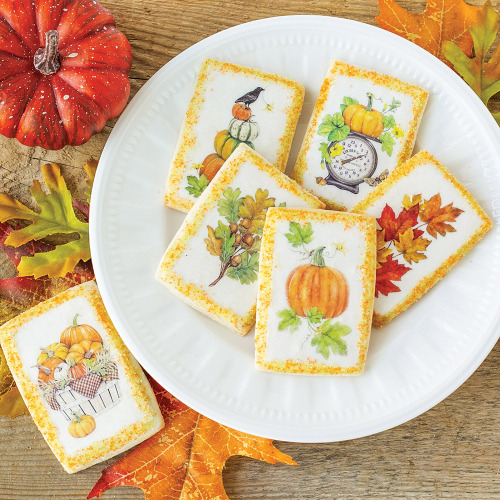 Harvest Pumpkin Wafer Paper