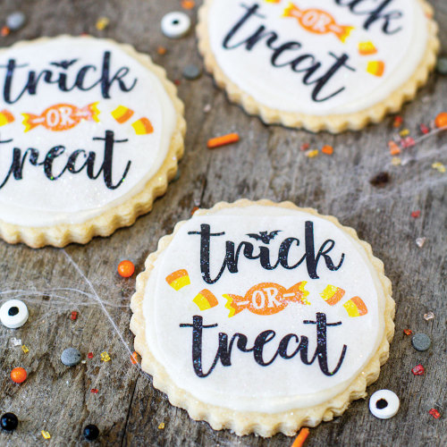 Trick or Treat Edible Wafer Paper