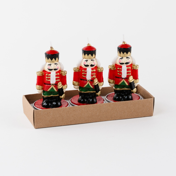 Nutcracker Tealights Set