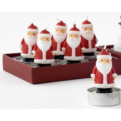 Santa Tealight Boxed Set