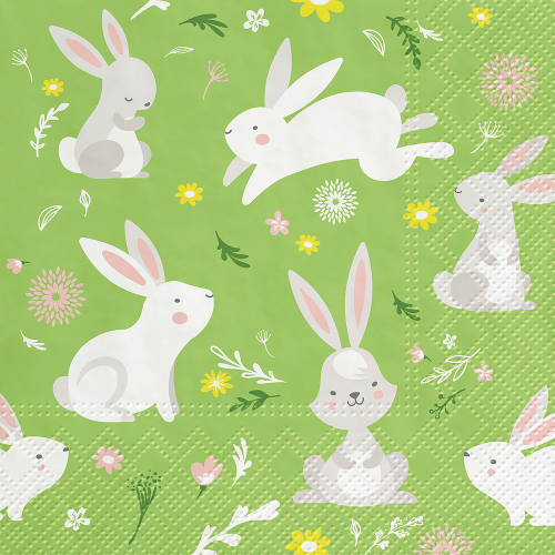Rabbit Games Lunch Napkins