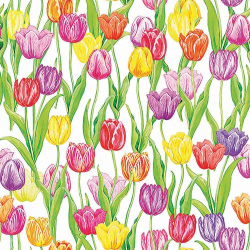 SALE!  Magic Tulips Lunch Napkin