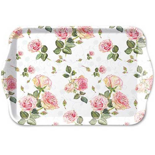 LTD QTY!  Rosie White Lunch Tray