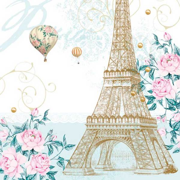Toujour Paris Lunch Napkin