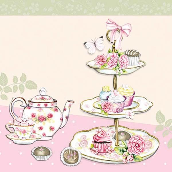 High Tea Cocktail Napkin