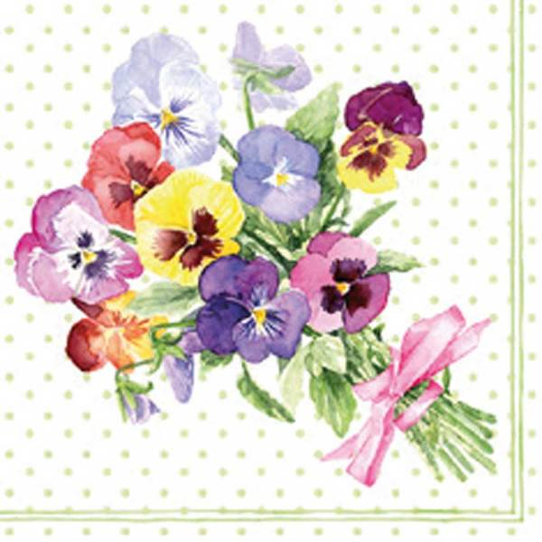 Bunch of Violets Lunch Napkin