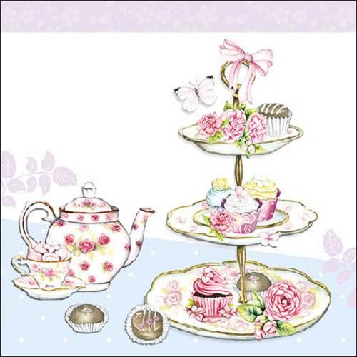 LTD QTY High Tea Lunch Napkin