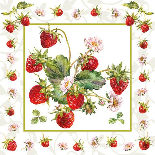 SALE!  Fresh Strawberries Lunch Napkin