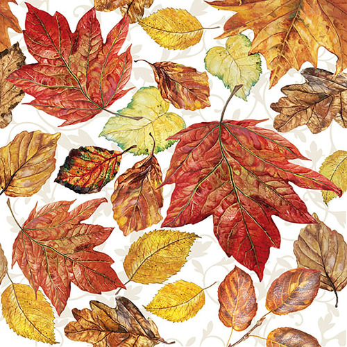 Colorful Leaves Lunch Napkins