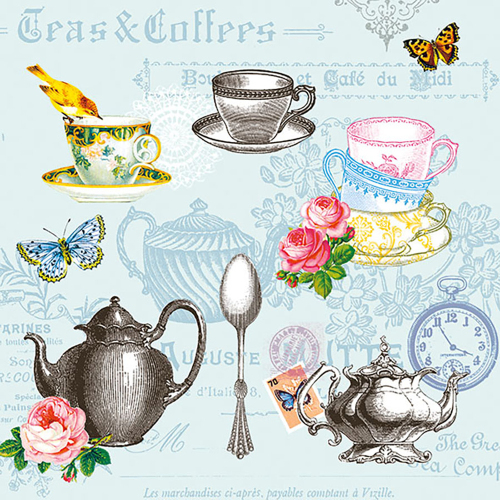 Time for Tea Lunch Napkin