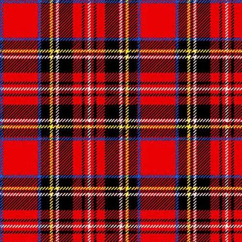Scottish Red Lunch Napkins