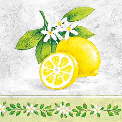SALE!  Lemon Branch Lunch Napkins
