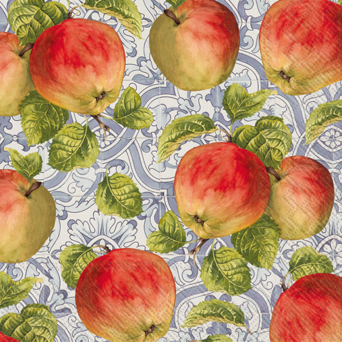 SOS!  Classic Apple Lunch Napkins