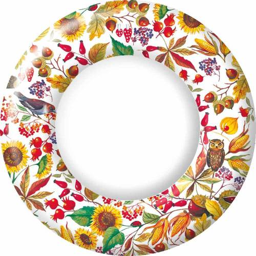 Autumn Harvest Dinner Plates