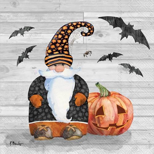 SALE!  Halloween Gnome Cocktail Napkins