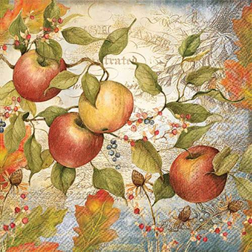 Fall Apples Lunch Napkins