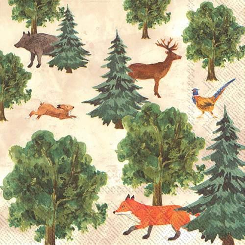 Forest Animals Lunch Napkins