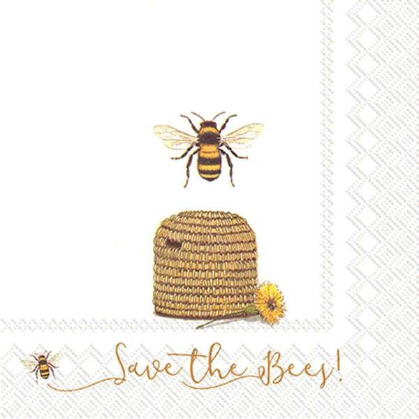 LTD QTY!  Save the Bees Lunch Napkins