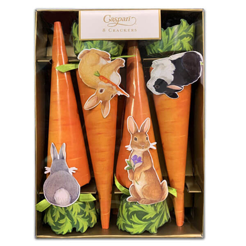 Bunnies & Carrots Party Crackers