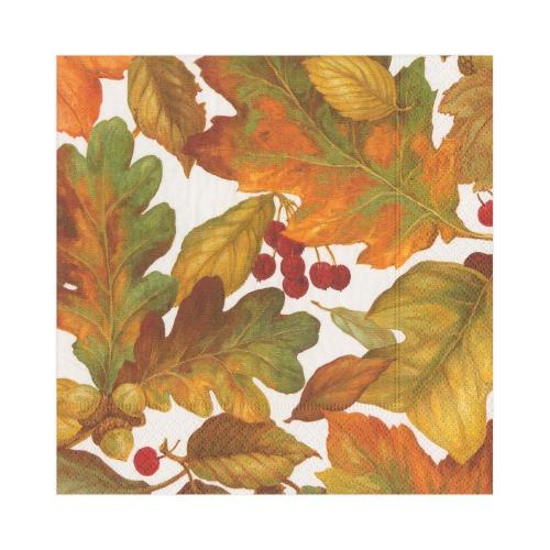 Leaves of Autumn Lunch Napkins