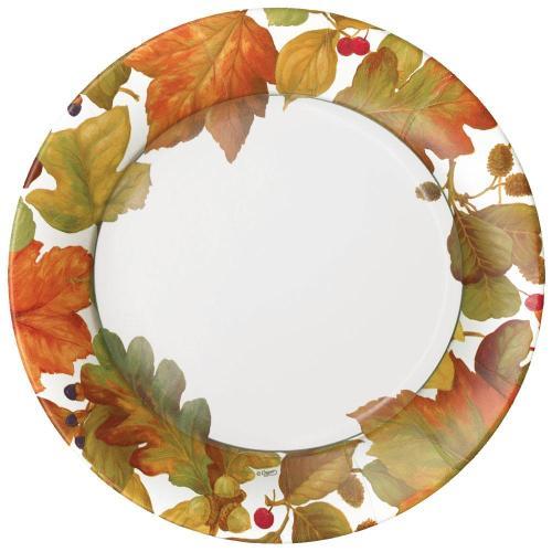 Autumn Leaves Dessert Plates