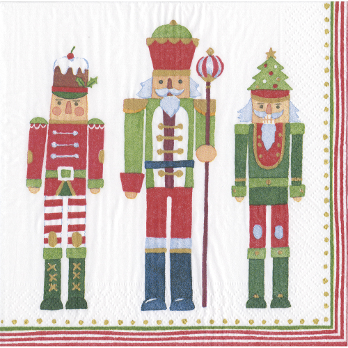 March of the Nutcrackers Lunch Napkins