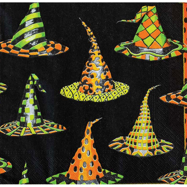 SALE!  Witches Hats Lunch Napkins