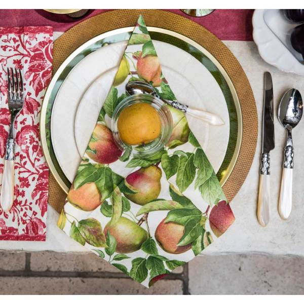 Apple Orchard Paper Lunch Napkins