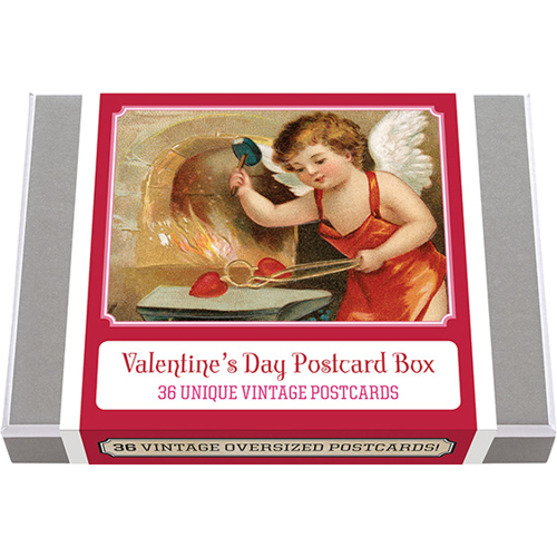 Valentine's Day Postcard Box