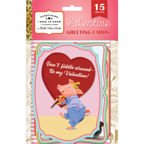 SALE!  Little Golden Valentine Packet