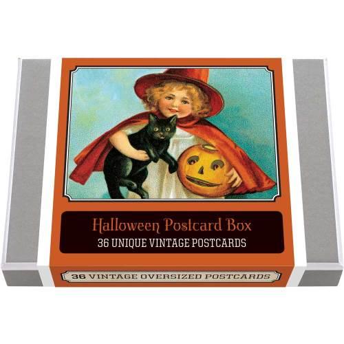 Halloween Postcard Box