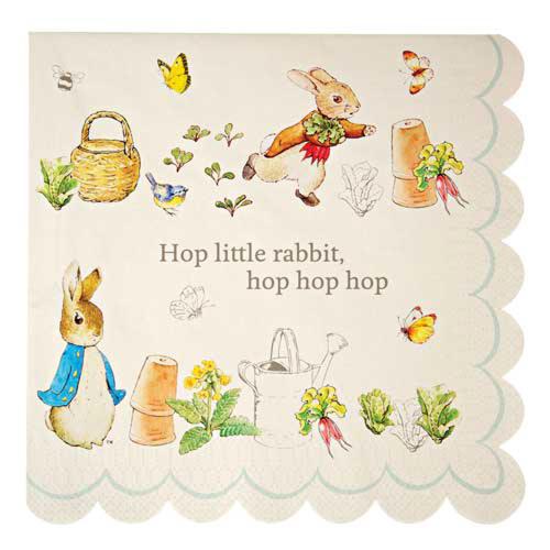 Peter Rabbit Paper Luncheon Napkins