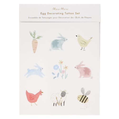 SALE!  Spring Egg Decorating Tattoo Kit