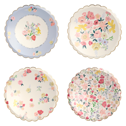 LTD QTY!  English Garden Dinner Plates