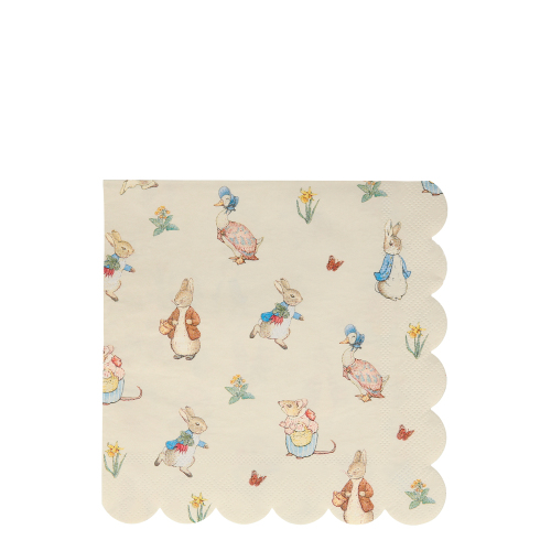 Peter Rabbit & Friends Lunch Napkins