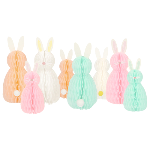 SALE!  Honeycomb Bunny Decorations