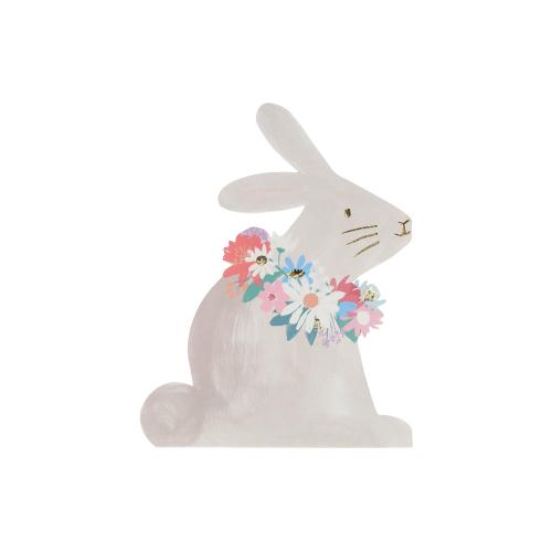 SALE!  Spring Bunny Napkins