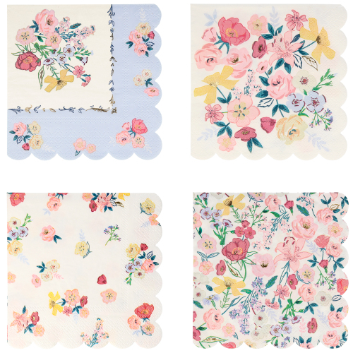 English Garden Lunch Napkins