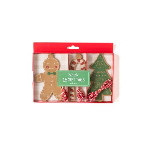 Gingerbread Tag Set