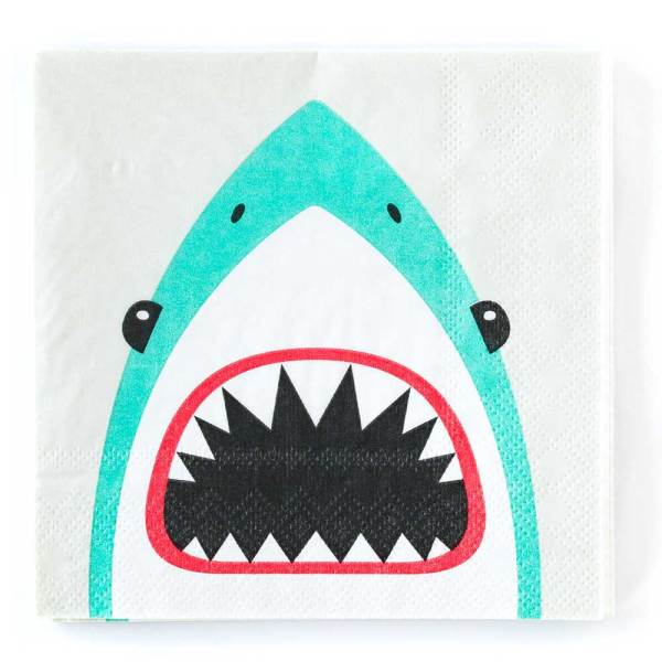 SALE!  Shark Beverage Paper Napkin