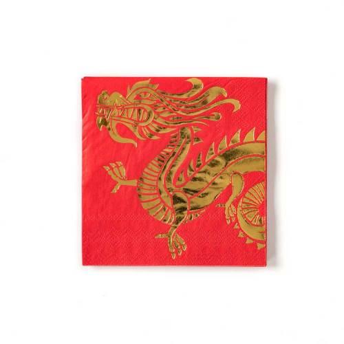 LTD QTY!  Dragon Beverage Paper Napkins