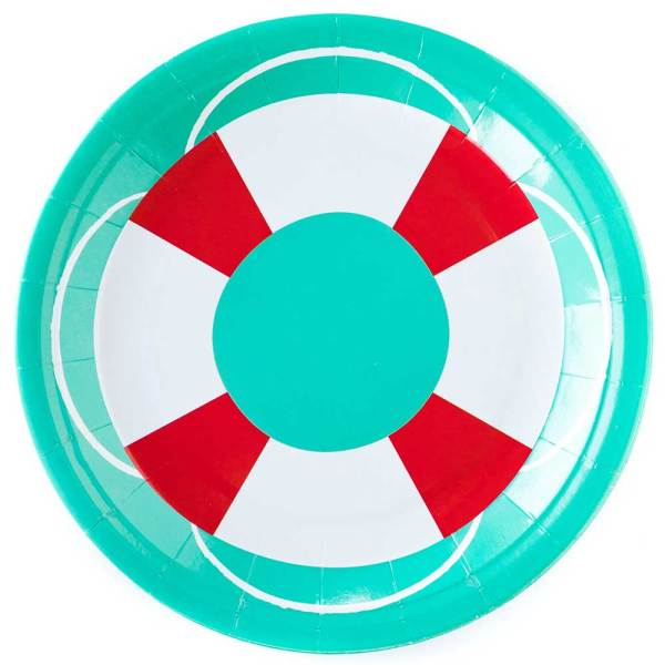 Lifesaver Paper Lunch Plates