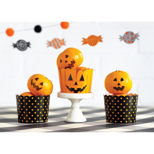 SALE!  Jacks & Dots Baking Cups