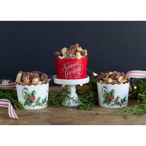 SOS!  Season's Greetings Baking Cups