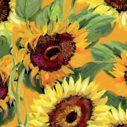 Sunflower Bouquet Beverage Napkin