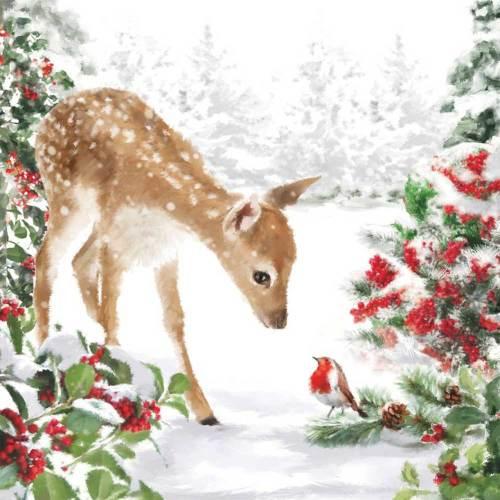Bambi Lunch Napkins