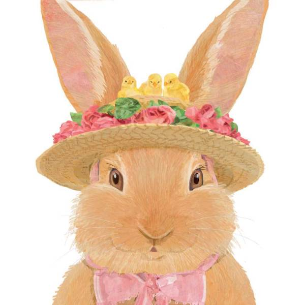 SALE!!  Amelie Bunny Lunch Napkins