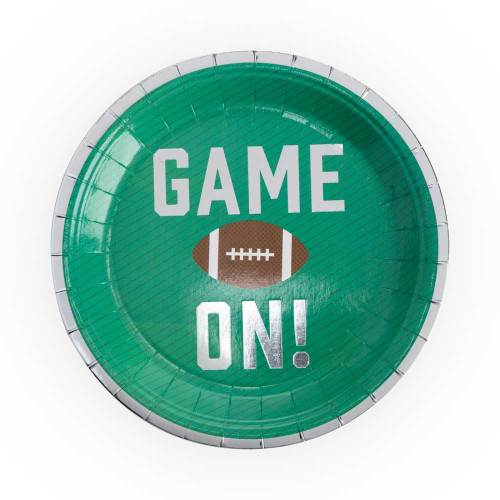 SALE!  Game On Paper Plates
