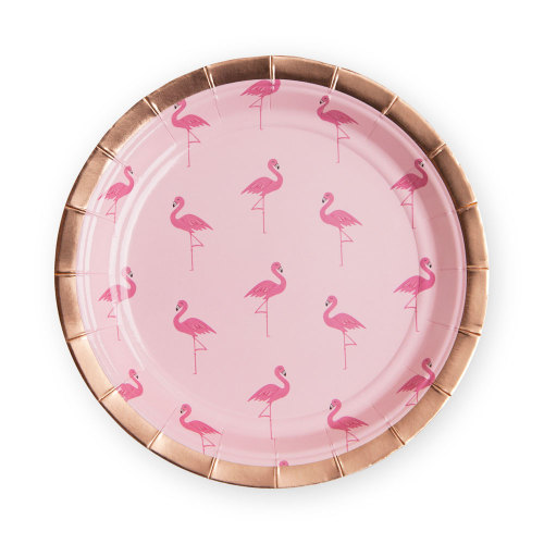 Flamingo Lunch Plates